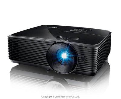 *來電優惠價*W335 Optoma 3800流明 XGA多功能投影機/1280x800/10W喇叭/USB供電