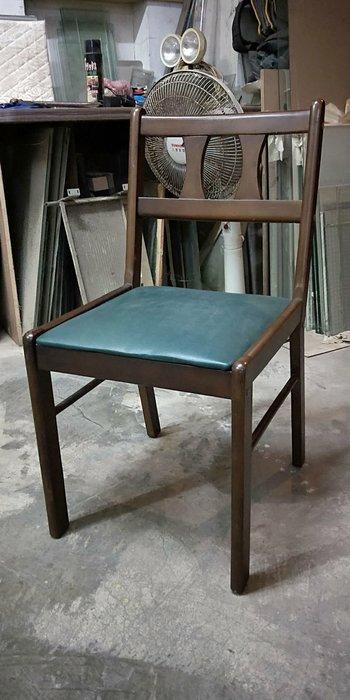 二手商場...原木餐椅