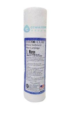 100%美國製造:克拉克/ CLACK/ HYDRO-CURE 10英吋5微米絕對濾心售價200元。