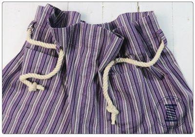 ✿小布物曲✿ 手作 前衛條紋短褲 100%純棉布 日本進口布料質感優  單一尺寸 寬鬆版型 舒適涼感滿分