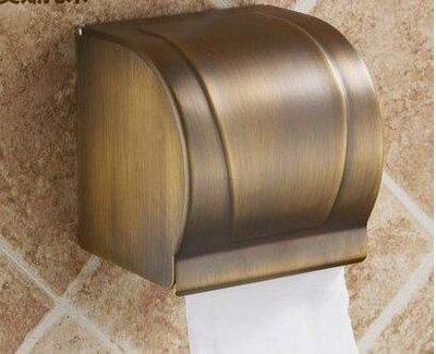 【優上】不銹鋼紙巾架 不銹鋼捲紙盒 不銹鋼紙巾盒 封閉防水防潮仿古