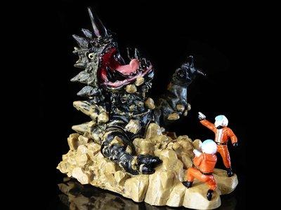 A-71 櫃 現狀品 : MAGLLA 地底怪獸 瑪格拉 宇宙特科隊員 HG ULTRAMAN 富貴玩具店
