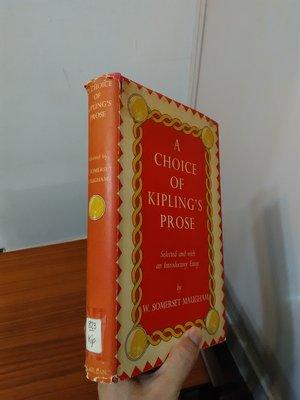 【英文舊書】[小說] 吉卜林短篇小說集 A Choice of Kipling's Prose