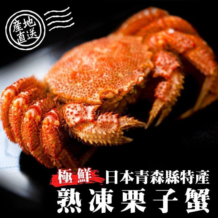 【買2送2】日本熟凍栗子母蟹共4隻(100g-130g/隻)