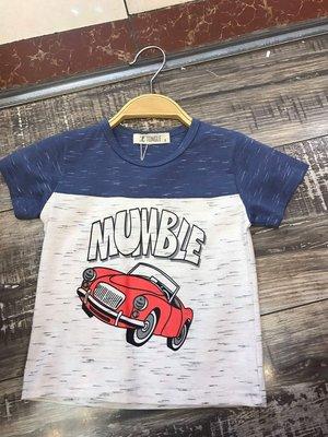999免運費(J&H童裝服飾)MUMBLE汽車短T恤
