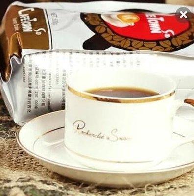 咖啡杯 皇家金黃歐式骨瓷咖啡杯子套裝陶...
