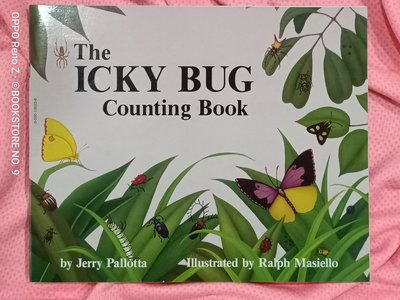 *NO.9 九號書店* THE ICKY BUG (COUNTING BOOK) 英文繪本童書 SCHOLASTIC