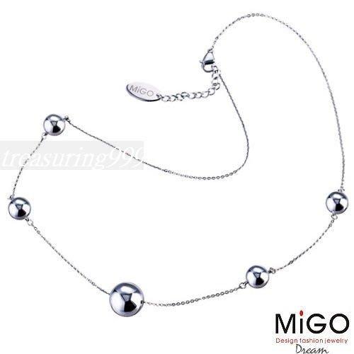 【永恆典藏館】 MIGO 316L【愛跳動】女項鍊 生日/情人節最佳獻禮