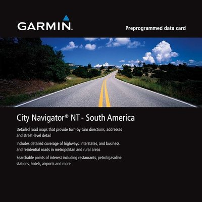 【購3C┘】送免運+含稅 GARMIN City Navigator South America 南美洲地圖卡