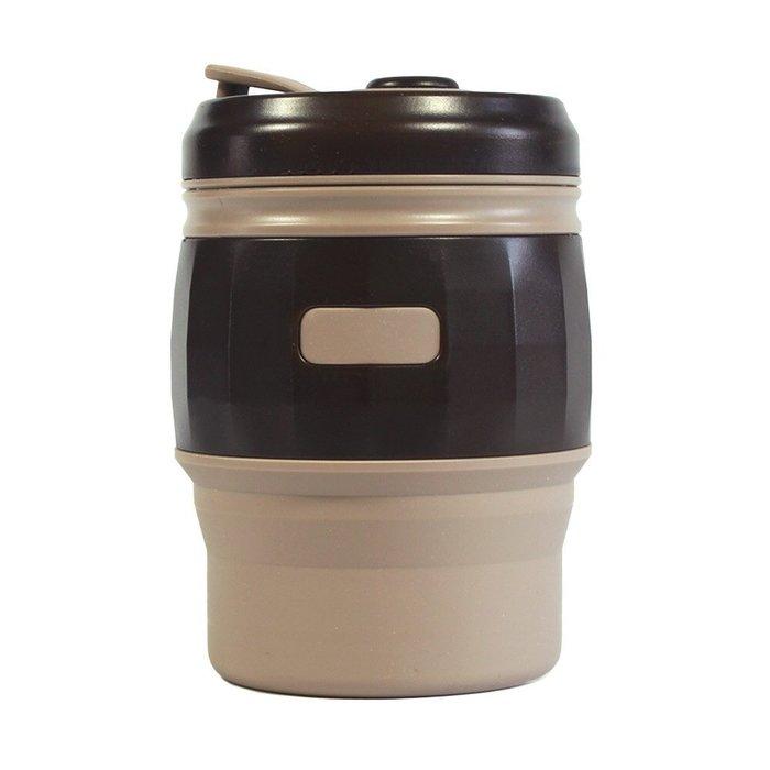快速出貨 TT.life食品級矽膠折疊咖啡杯 環保杯 折疊杯 摺疊杯 收納杯 環保隨身杯 隨手杯