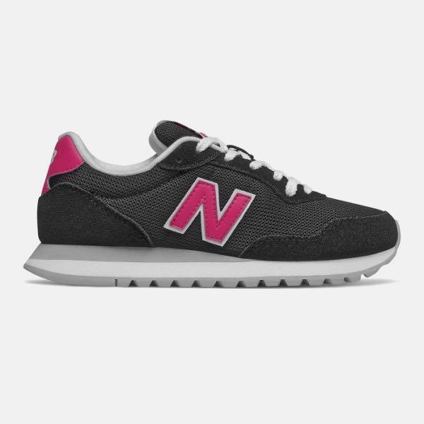 ➕S.P➕ 女鞋 New Balance NB 527 黑 桃粉 麂皮 復古 休閒鞋 慢跑鞋 WL527PCA