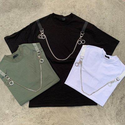 【inSAne】韓國購入 / 項鍊 / 可拆 / 短袖 / 單一尺寸 / 黑色 & 白色 & 綠色