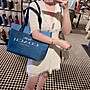 美國名品折扣店~ 特賣 COACH 91131 CANVAS系列 托特包 休閒女包 單肩包 牛仔包