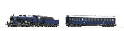 傑仲 博蘭 Roco Steam loco S 3/6 saloon K.Bay.Sts.B.DS 61471 HO