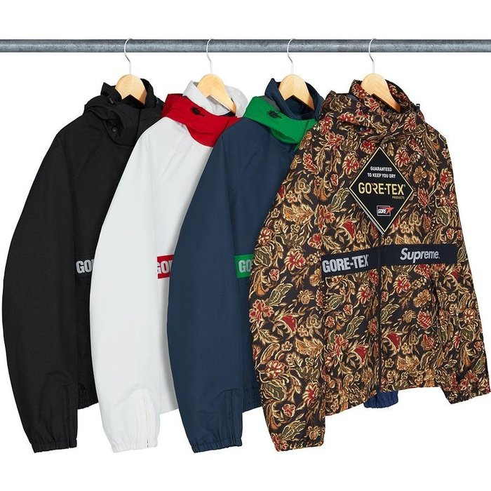 【美國鞋校】 預購 Supreme GORE-TEX Court Jacket 防風外套 帽子可拆 四色 風衣 夾克