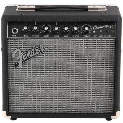 『俠客樂器』Fender Champion 20吉他音箱 20W