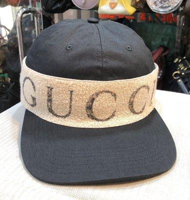 《當肯二手名品》GUCCI 新款 髮帶 棒球帽  ㊣