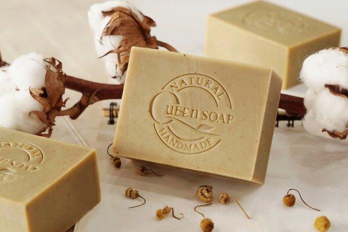 女王天然手工皂「羅馬洋甘菊-純欖馬賽皂」    手工香皂 手工肥皂