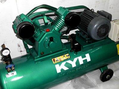 中古3HP復盛型空壓機 三相220V(中古機庫存 不定期更新)