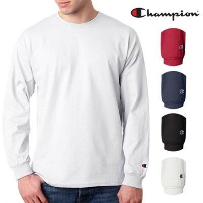 【FANCY】美國 冠軍 CHAMPION 素面 素TEE 長TEE 6色 S-3XL
