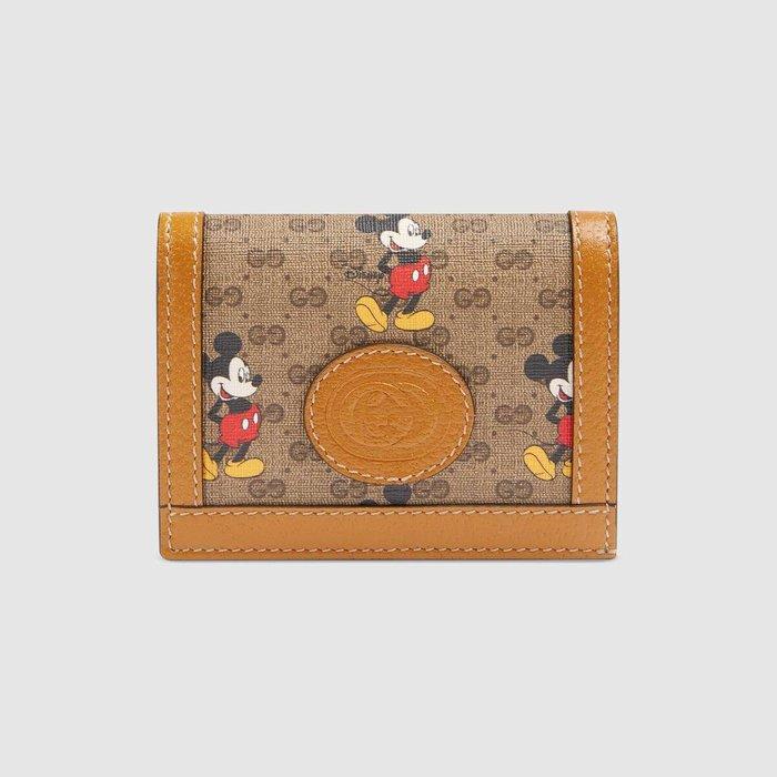 【連線】Gucci Disney  card case wallet 短夾  ( 免運) 歐洲連線
