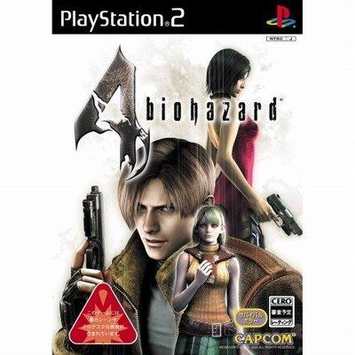 【二手遊戲】PS2 惡靈古堡 4 BIOHAZARD RESIDENT EVIL 4 日文版【台中恐龍電玩】
