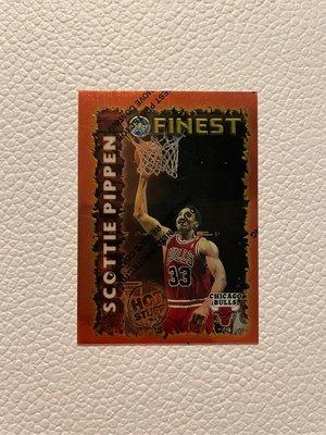 Scottie Pippen Chicago Bulls 1996 Topps Finest Hot Stuff #HS11