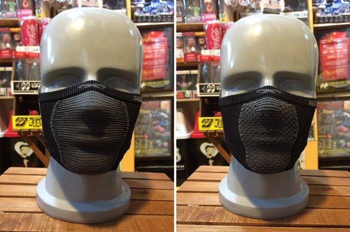 (I LOVE樂多)Naroo Mask黑色短版X5騎行運動 面罩 單車 哈雷 越野 滑胎 偉士 VESPA Cafe