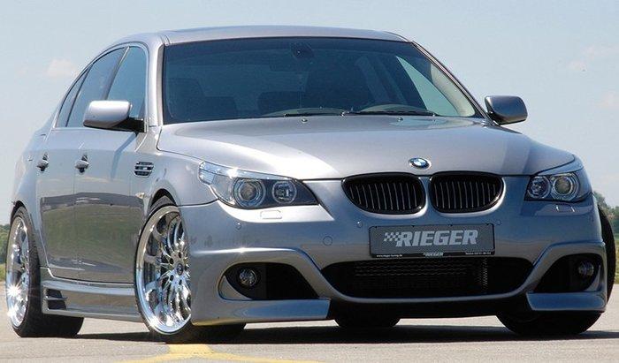 【樂駒】RIEGER BMW 5-series E60 E61 side skirt 側裙 飾板 飾蓋 外觀 空力 套件