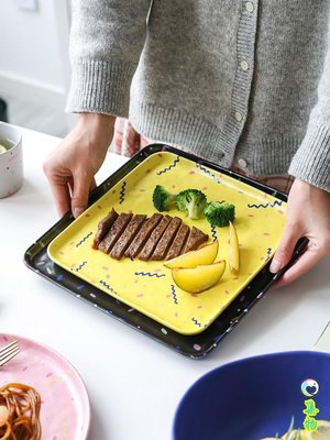 (2件免運)日式哑光陶瓷餐具盘子家用菜盘西餐盘牛排盘杯子吃饭碗A-44 集物生活