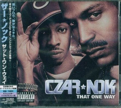 (甲上唱片) Czar-Nok - That One Way - 日盤 +1BONUS