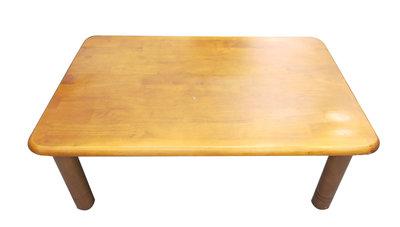 【宏品二手家具】台中全新中古傢俱家電最便宜 A2054*實木和室桌*皮沙發 客廳家具 布沙發 泡茶桌椅台北新竹宜蘭
