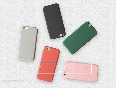 iPhone 6 / 6S 日系磨砂素色手機硬殼 淺色調 文青風 高質感質地 觸感佳 蘋果 Apple 手機套
