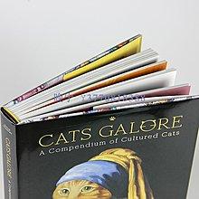晚宁 Cats Galore 貓咪集錦:藝術作品里的貓 英文原版 A Compendium of Cultured Cats 世界經典名畫貓咪版 T&H