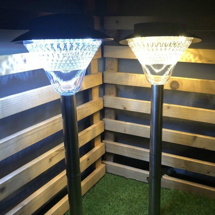 ☀傑太光能☀太陽能草坪燈 保固 40LED太陽能燈 插地燈 庭院燈 庭園燈 景觀 造景 防雨 露營 N-40 面向陽光
