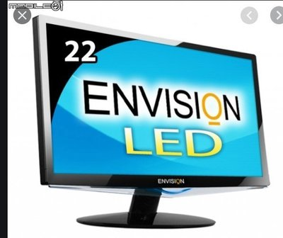 易美迅ENVISION P2271WHL 22吋LED液晶螢幕 支援(VGA、DVI 、HDMI) 二手良品 $1500