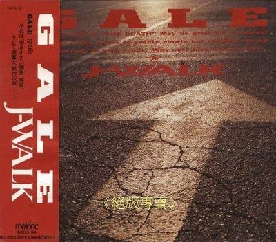 """《絕版專賣》J-WALK (「JAYWALK」) / GALE (翻唱「張雨生」""""大海""""的日本老牌樂團)"""