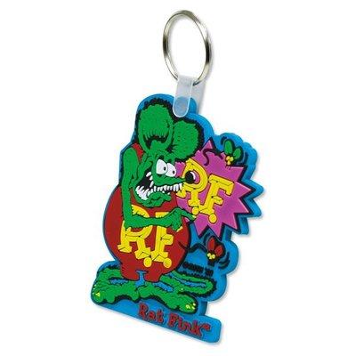 Rat Fink Pointing Key Ring RF 老鼠芬克鑰匙圈共兩種顏色供您挑選