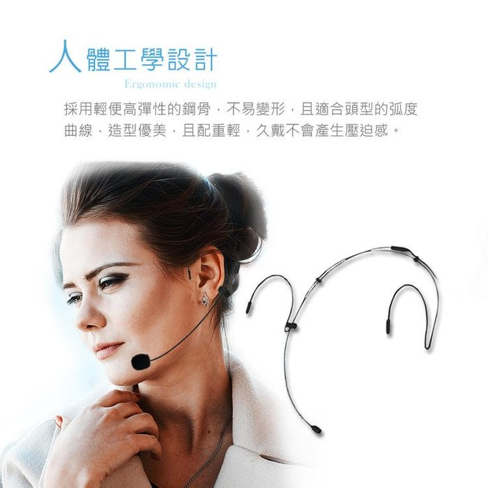 【結帳有折扣】免運!HANLIN 2C 2.4MIC 頭戴無線麥克風 教學麥克風 教學隱形雙耳掛2.4G麥克風 隨插即用