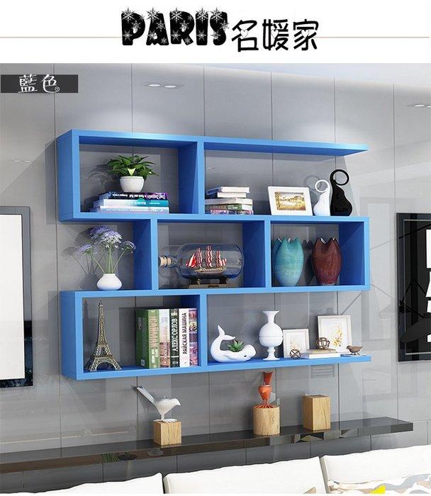 時尚簡約鄉村風牆壁吊掛式置物架 置物櫃 壁架 壁櫃