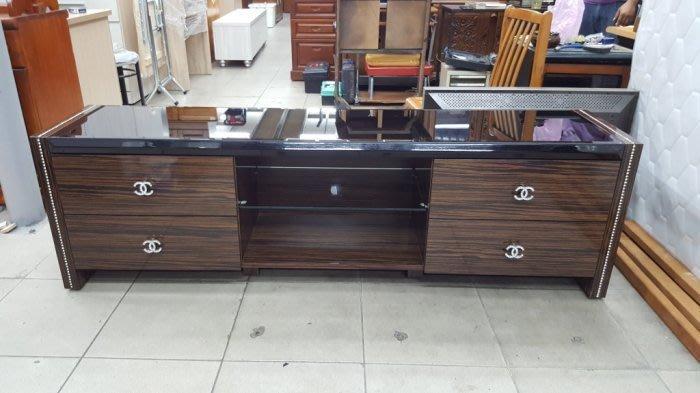 全新庫存家具賣場  全新鋼琴烤漆電視櫃 平面TV櫃 矮櫃 高低櫃*庫存客廳家具 沙發茶几