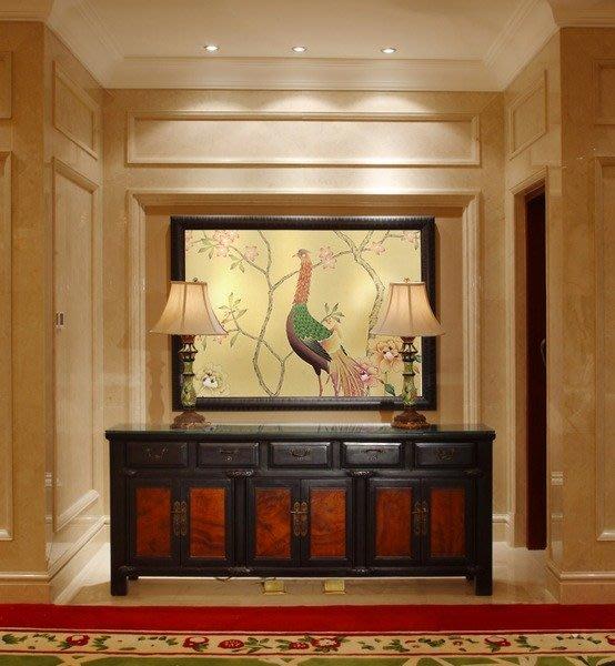 【芮洛蔓 La Romance】手繪絲綢壁紙 ZW01-032 / 壁飾 / 畫飾 / 牆紙