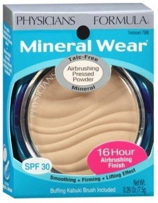 ※美國代購-潔潔小屋※Physician's Formula Mineral Wear Talc-Free 粉餅