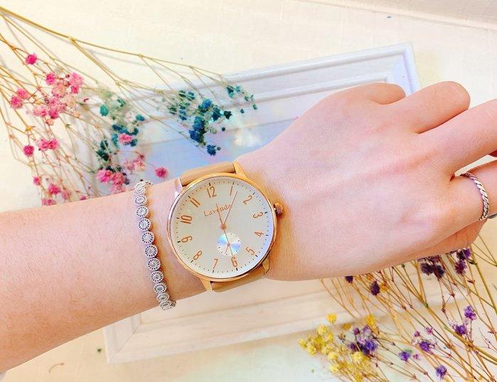 韓國❤️ Lavenda 美好時光 數字款 皮質 造型錶 手錶【Verina's韓系美飾】