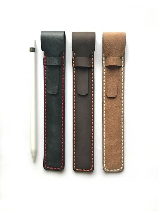 【IAN X EL】手工Apple Pencil筆袋 / 收納袋 純手工皮件