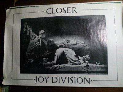 Joy Division Closer 橫式巨幅海報 102X152cm 全新無張貼