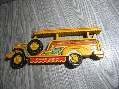 二手- 金屬 jeepney 菲律賓 車 裝飾 鐵牌 藝術品/居家裝飾擺飾