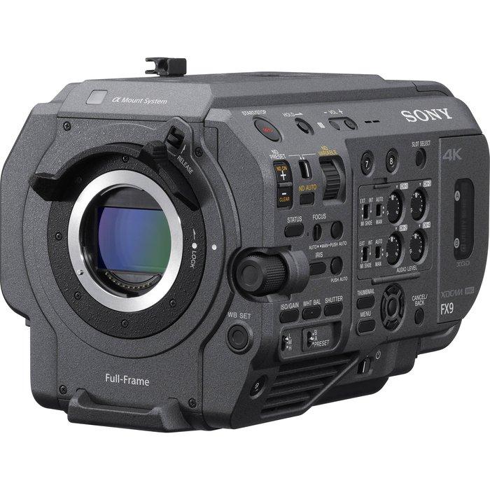 鏡花園 SONY PXW-FX9 4K XDCAM Full-Frame 套組 (租攝影機)