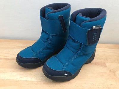迪卡儂 兒童- 10°C防水防滑登山雪鞋
