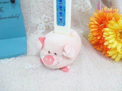 ☆[Hankaro]☆流行可愛粉紅小豬玩偶造型置物盒(樣品出清)